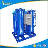Établir une station d'oxygène pour le cylindre d'oxygène remplissant
