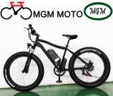 Bicicletta elettrica della montagna dell'incrociatore della spiaggia del blocco per grafici della lega 26 pollici
