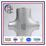 Croix duplex de Fittting de pipe d'acier du carbone d'Uns 32750