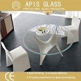 사무실 홈을%s 6mm/8mm 차 커피용 탁자 강화 유리
