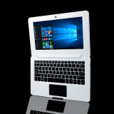 10 Zoll-beweglicher Laptop-intelligenter Notizbuch-Laptop-Intel-Atom-Notebook-Computer