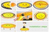 子供および大人のための鋼鉄物質的な円形の単一の跳躍のバンジーのトランポリン