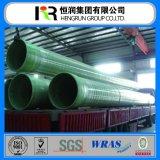 Tubo sotterraneo Dn100mm di GRP a Dn4000mm per il mare delle acque luride/il rifornimento idrico dell'olio
