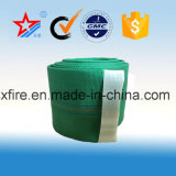Boyau blanc de l'eau de garniture de PVC de vert de rouge bleu de tuyau d'incendie de quatre couleurs