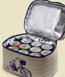 Chinesische Artsegeltuch thermischer Tote-Kühler-Mittagessen-Isolierbeutel (MS3121)