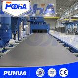 Reinigungs-Geräten-Rollen-Förderanlagen-Stahlplatten-Granaliengebläse-Maschine