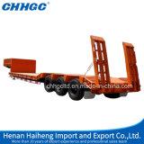 De hoge Lage Aanhangwagens van de Vrachtwagen van het Bed Quanlity Semi voor het Vervoer van de Machine voor Verkoop