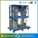 10m aan Werkende Platforms van de Lift van de Legering van het Aluminium van 12m de Lichtgewicht Towable