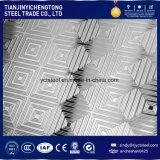 piatto Checkered antisdrucciolevole dell'acciaio inossidabile 304 di 6mm