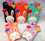 Оптовое 3D Rabbit Fashion Mobile Silicone Phone Case (BZPC030)