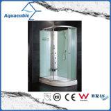 Terminar el sitio de ducha automatizado del vidrio Tempered del masaje (AS-TS58)