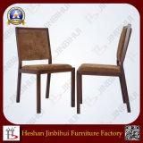 Kijkt het Hout van de Goede Kwaliteit van de Fabriek van Jinbihui Stoel van de Staaf van de Stoel van de Staaf de Stapelbare (BH-FM3018)