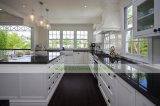 Zeitgenössische festes Holz-weiße befleckte Küche-Schränke (WH-D805)