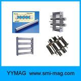 Customized NdFeB Grade magnética / Grelha / Grades / Hopper Magnet