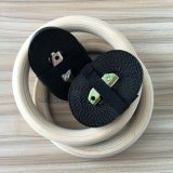 Кольцо гимнастики изготовленный на заказ логоса лазера деревянное при пронумерованное 4.5m планкой