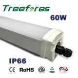 Iluminación de la Tri-Prueba de la lámpara LED del tubo de IP65 T8 60W los 4FT el 1.2m LED