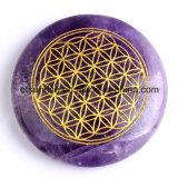 Energia della pietra preziosa della pietra semi preziosa che intaglia segno