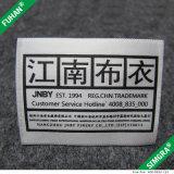 Het Afgedrukte Etiket van de Stof van de douane Satijn voor Kleding