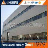 Edifício da fábrica do frame de aço/vertido/armazém/oficina