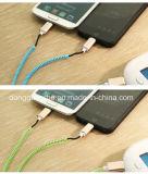 2 em 1 cabo do USB do Zipper para o micro e o I5