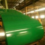 PPGI a enduit la bobine d'une première couche de peinture en acier galvanisée pour des feuilles de toiture de construction 0.14mm-0.8mm