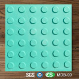 Anti-Slip Warning Outdoor PVC Tactile Plastic Blind Floor Tijolo Telha 300 * 300