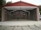 プレハブの鋼板構造航空機のハンガーの小屋