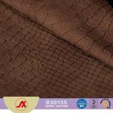 Cuoio stampato del PVC del reticolo di Snakeskin del nuovo prodotto, cuoio di Yangbuck