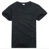 OEM de Katoenen Mensen van de Van uitstekende kwaliteit van de Kleren van de Douane van de Dienst Duidelijke T-shirt van de Kleur