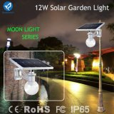 Luz solar integrada al aire libre del jardín de la calle del sensor de movimiento 12W LED