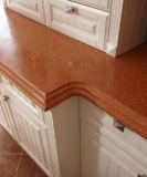 Мебель кухни идилличной конструкции отделки PVC изготовленный на заказ (zc-056)