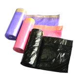 Commande à façon en plastique de sac de cordon d'ordures d'utilisation industrielle