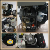 Air-Cooled двигатель дизеля 14HP (морской ручной accepeted шкив)