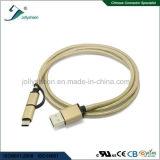 모든 인조 인간 장치를 위한 Mirco USB 그리고 유형 C에서 USB2.0 케이블