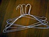 """Taille blanche 16 """" 13 G de 50 long en métal de collet de couleur de fil d'acier de chemise cintres"""