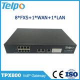 TOS caliente de los productos de la venta/Pri portuario de Dscp 8 FXS VoIP al convertidor del SIP
