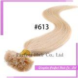 Kératine de prolonge de cheveux humains de kératine d'extrémité de Remy U