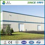 Panneau vert de toiture utilisé par entrepôt préfabriqué de structure métallique