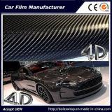 пленка винила волокна углерода винила 4D автомобиля пленки волокна углерода 3D для обруча автомобиля