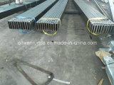 Taille en acier 200X50X8mm de tube d'industrie de machines