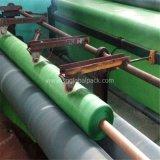8 pieds de vert de large poly Tarps de roulement