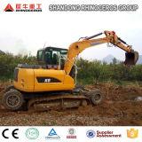 Máquina escavadora X8 da Roda-Esteira rolante de Xiniu do rinoceronte com Cummins/motor de Yanmar