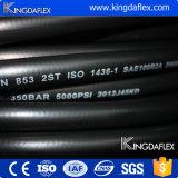 スムーズな終了する油圧ゴム製ホースSAE100r2at/En853 2sn