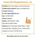 Máquinas estacionárias de elevação de mercadorias de tesoura hidráulica (SJG5-5)