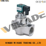 Valvola ad angolo retto di impulso del solenoide dell'aria pulita AC220V di serie G1 di DMF ''