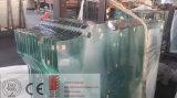 vidrio Tempered de 3-19m m con los orificios y los recortes
