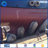para el salvamento Sunken de la nave y el saco hinchable de goma de elevación pesado de desencalladura