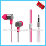 Metal Aluminum CNC Cutting Earphone para MP3 / MP4 / iPod