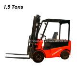 1.5トンすべてトラックのための電気フォークリフトの持ち上げ装置電池のフォークリフト