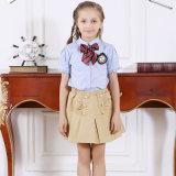 Красивейшие рубашки и конструкция юбки для фабрики формы средней школы